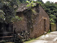 Stone house in Tepoztlan